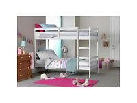 Josie Single Bunk Bed Frame - White