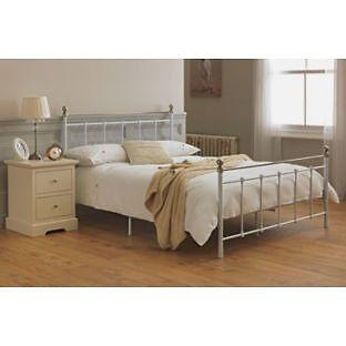 Eversholt Kingsize Bed Frame - White