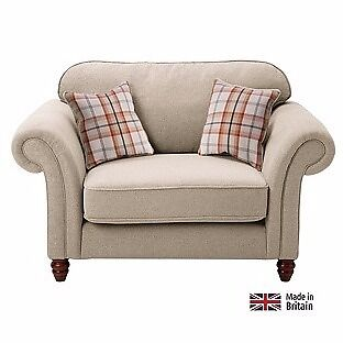 Sofa, cuddle (large matching sofa also availablesee seperate adin Norwich, NorfolkGumtree - Sofa, Cuddle. Heart of House Windsor Cuddle Fabric Sofa Autumn/Cream. Bought for £300. Only used for 3 months, excellent condition. £200