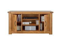 already built up Harvard Low Sideboard - TV Unit - Solid Pine