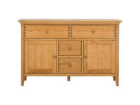 Schreiber Pentridge 4 Drawer 2 Door Sideboard - Oak