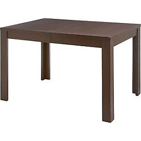 Adaline Walnut Effect Extendable Dining Table