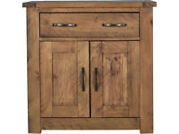 Harvard 2 Door 1 Drawer Sideboard - Solid Pine