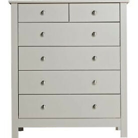 Osaka 4+2 Drawer Chest - Putty