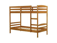 Josie Single Bunk Bed Frame - Natural