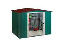 BRAND NEW large garden metal shed building