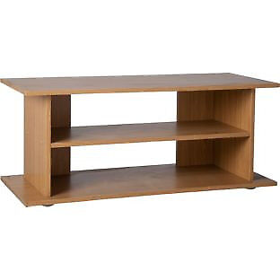 Large TV Unit - Oak Effect