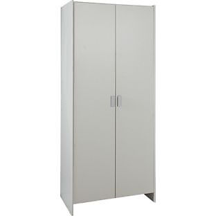 New Capella 2 Door Wardrobe - White