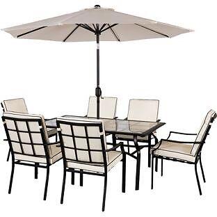 Barcelona 6 Seater Patio Furniture Set