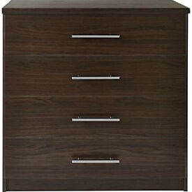 Normandy 4 Drawer Chest - Wenge Effect