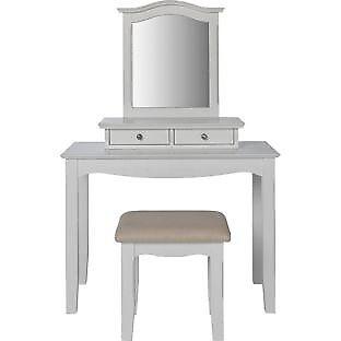 Heart of House Avignon 2 Drawer Dressing Table - White
