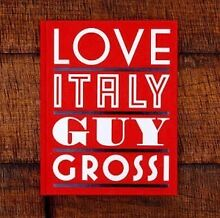 Love Italy - Guy Grossi - 540pages.New.Rrp$100 Ascot Belmont Area Preview