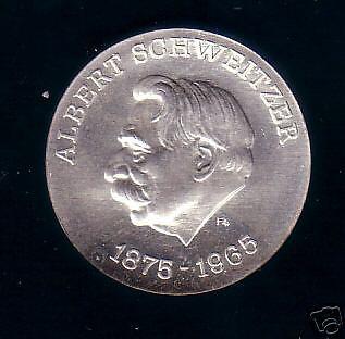 """10 M DDR 1975 """"Schweitzer-Probe"""" selten"""