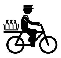 Delivery by bicycle for your buisness