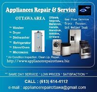 APPLIANCE REPAIR & INSTALLATION ( ELECTRIC & GAS)
