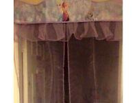 Frozen canopy & door curtain
