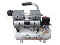BARGAIN! Silent Air compressor 9l 110L/min 8bar Oil Free MZB