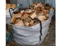 Seasoned quality split firewood