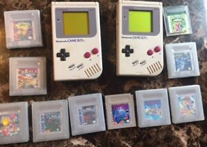 GAMEBOYS AND GAMES FOR SALE