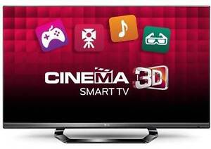 """LG 42LM6410 42"""" Full HD LED LCD 3D Capable Smart TV West Footscray Maribyrnong Area Preview"""