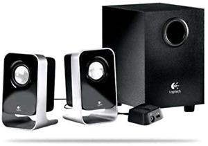 Logitech LS21 multimedia speakers $20
