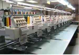 embroidery machine operator