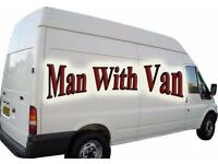 MAN WITH VAN REMOVAL 24/7 ALL ACROSS LONDON BEST RATES