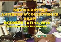 Northeastern Antiques and Collectibles Show Oct 15 & 16