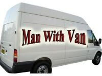MAN WITH VAN REMOVAL SERVICE ****IN RICKMANSWORTH, GERRARDS CROSS, NORTHWOOD