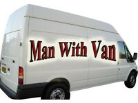 Van with Man - Removal Services - Full Size Van - Service with Smile - Very Cheap Rate