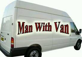Man and van professional cheap movers available at short notices