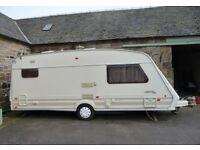 Fleetwood Colchester 1650 4/5 berth Caravan