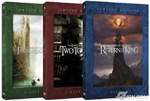 NEW - Lord of The Rings Limited Edition Trilogy