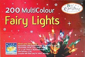 The Benross Christmas Workshop 200 Shadeless Colour Fairy Lights