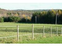Grass land wanted aprox 2-4 acers for long term rent