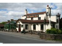 FULL-TIME BAR PERSON REQUIRED FOR GENUINE FREE- HOUSE IN A VILLAGE LOCATION, NORTH BRISTOL
