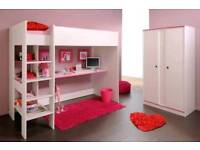 Children bed and desk