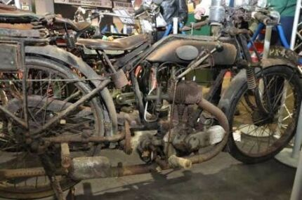 Wanted: Flat tank vintage motorcycle AJS