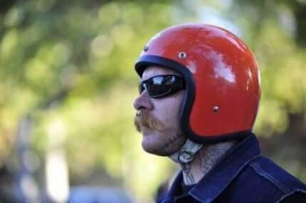 World's Lowest Profile Motorbike Helmet - Motorcycle Harley BSA
