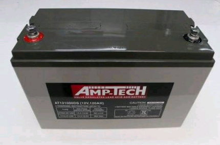 AMP TECH BATTERY AGM DEEP CYCLE 120AH Tweed Heads West Tweed Heads Area Preview