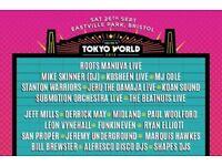 Tokyo World weekend ticket £60