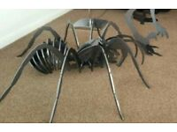 Spider tarantula sculpture Halloween