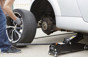 Winter tire change AT YOUR DOOR