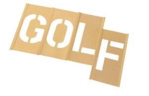 Letter stencils ebay brass letter stencils gumiabroncs Gallery
