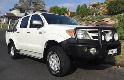 2008 Toyota Hilux SR5 Ute 4x4,Auto,8 Month Rego,CD,Mags,Log Book Hinchinbrook Liverpool Area Preview