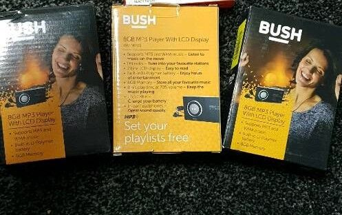Bush mp3 players with display | in Leicester, Leicestershire | Gumtree