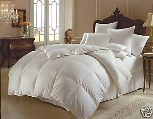 NEW 95% HUNGARIAN GOOSE DOWN QUILT DOONA KING - 7 BLANKET