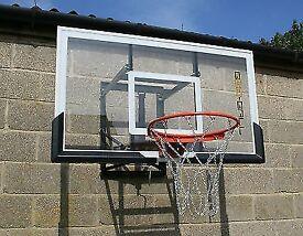Bee-Ball-Basketball-Backboard-adjustable-height-with-Flex-Ring
