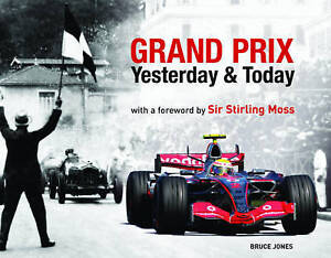 Grand Prix Yesterday and Today, Bruce Jones, Excellent Book