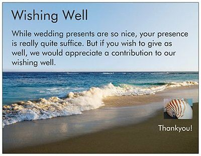 Wishing Well Cards Look Similar To An Invitation But They Have A Very Simple Message In Fact The Simpler Better Here Are Some Examples